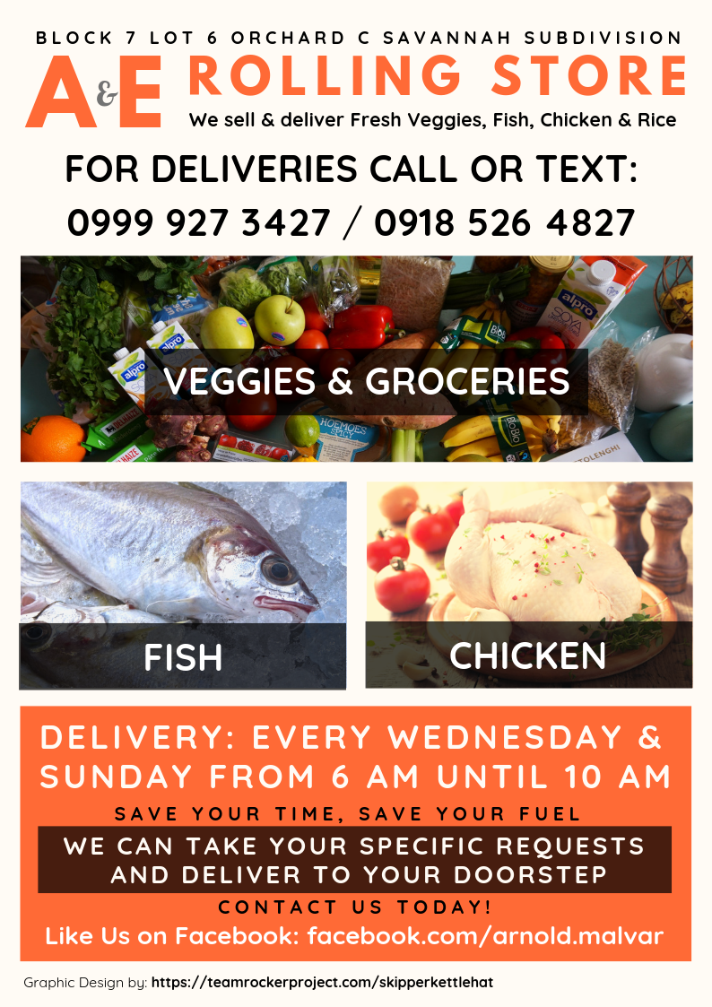 A & E ROLLING STORE Graphic Flyer